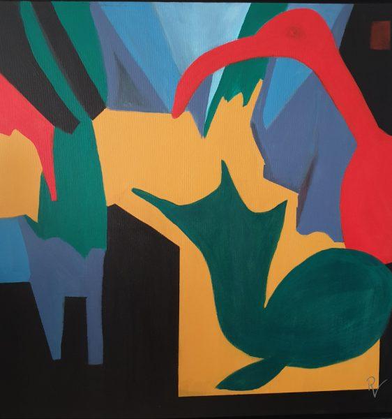 Kunst Bündig Werk Renate Volkland
