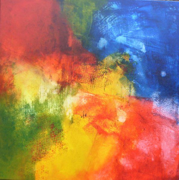 Werkschau Christa Landig 3 - Serie Landschaften
