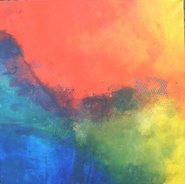 Werkschau Christa Landig 7 - Serie Landschaften