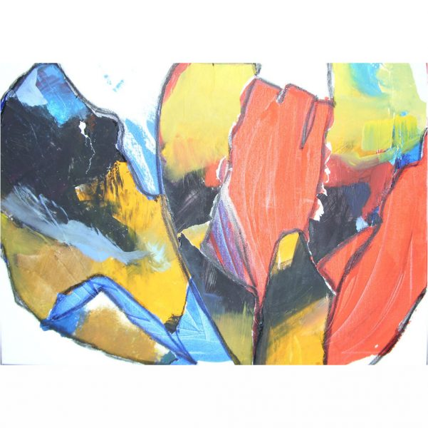 Werkschau Christa Landig 8 - Serie Gartenschönheiten